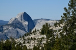 Half Dome from Tioga Pass CA 120