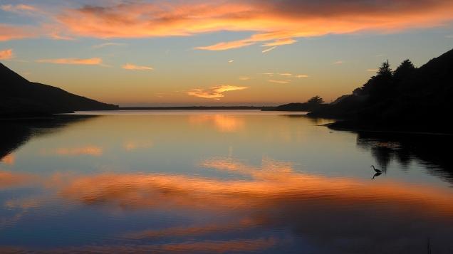 Sunset, Marin Headlands, Marin County, CA