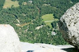 Caution: 2000 foot drop