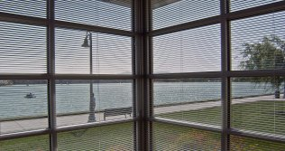 Window to Foster City Lagoon