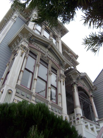 Ornate Victorian - Oak Street, San Francisco