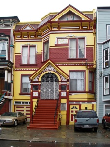Living colorful in San Francisco.