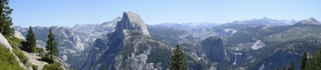 Yosemite from Glacier Point