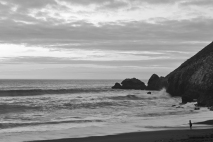At the water's edge... Rockaway Beach, Pacifica, CA