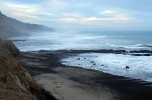 Cloudy Santa Cruz County