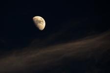 Old man moon