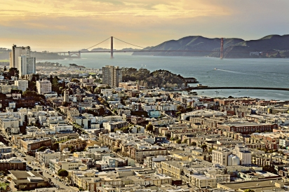 SF from Coit Tower